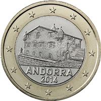 Image of Andorra 1 euro coin