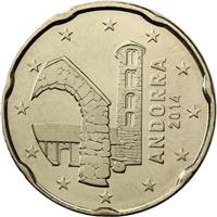 Image of Andorra 20 cents coin