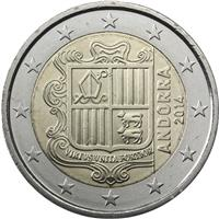 Image of Andorra 2 euros coin