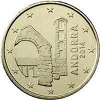 Image of Andorra 50 cents coin