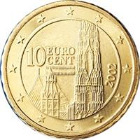 Image of Austria 10 cents coin
