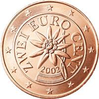 Image of Austria 2 cents coin