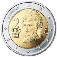 Image of Austria 2 euros coin