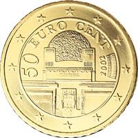 Image of Austria 50 cents coin