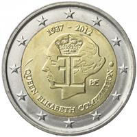 Image of Belgium 2 euros commemorative coin