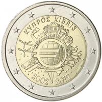 Image of Cyprus 2 euros commemorative coin