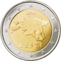 Image of Estonia 2 euros coin
