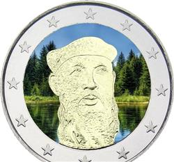 Obverse of Finland 2 euros 2013 - 125th Anniversary of the birth of F.E.Sillanpaa