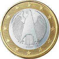 Image of Germany 1 euro coin