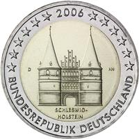 Image of Germany 2 euros commemorative coin