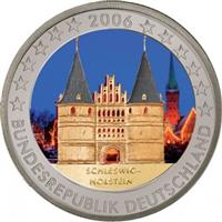 Image of Germany 2 euros colored euro