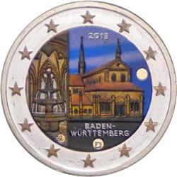 Obverse of Germany 2 euros 2013 - Maulbronn Abbey in Baden-Wurttemberg