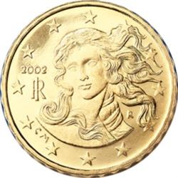 Obverse of Italy 10 cents 2003 - Birth of Venus
