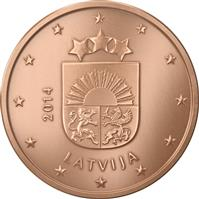 Image of Latvia 1 cent coin