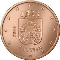 Image of Latvia 5 cents coin