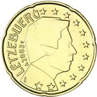 Image of Luxembourg 20 cents coin