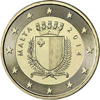 Image of Malta 10 cents coin