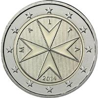 Image of Malta 2 euros coin