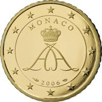 Image of Monaco 50 cents coin
