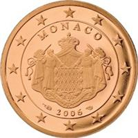 Image of Monaco 5 cents coin