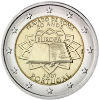 Image of Portugal 2 euros commemorative coin