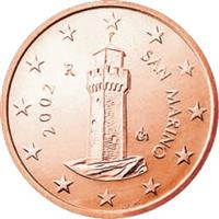 Image of San Marino 1 cent coin