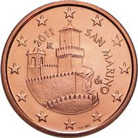 Image of San Marino 5 cents coin