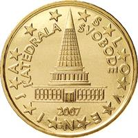 Image of Slovenia 10 cents coin