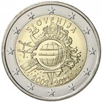Image of Slovenia 2 euros commemorative coin