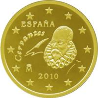 Image of Spain 10 cents coin