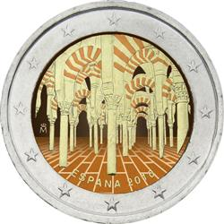 Obverse of Spain 2 euros 2010 - Historic Centre of Cordoba
