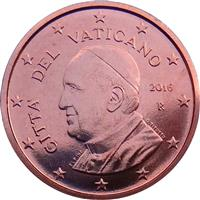 Image of Vatican 1 cent coin