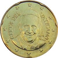 Image of Vatican 20 cents coin