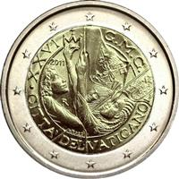 Image of Vatican 2 euros commemorative coin