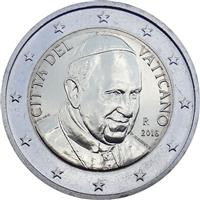 Image of Vatican 2 euros coin