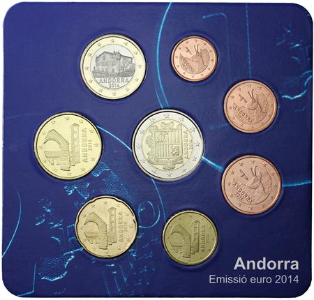Obverse of Andorra Starter kit 2014