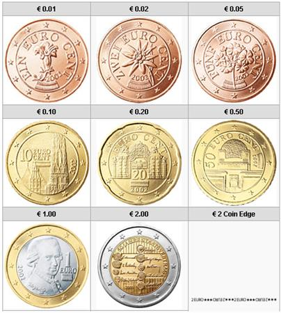 Obverse of Austria Complete Year Set - Austrian State Treaty 2005