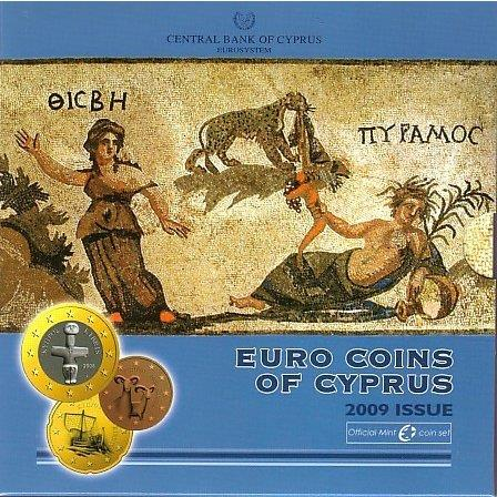 Obverse of Cyprus Official Blister 2009