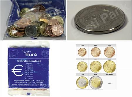 Obverse of Estonia Starter Kit 2011