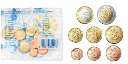 Obverse of Finland Starter Kit 2002