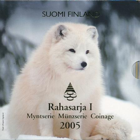 Obverse of Finland Official Blister - Endangered Animals 2005
