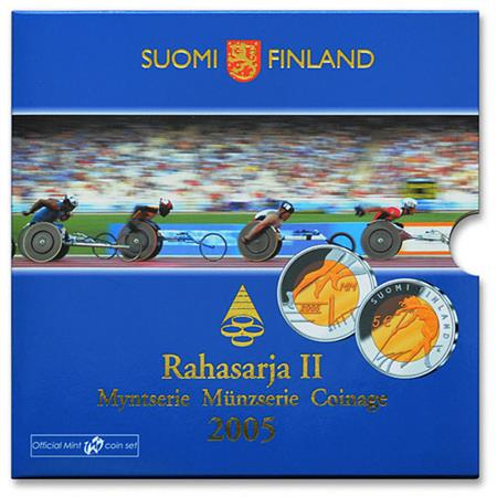 Obverse of Finland Athletics World Championships 2005