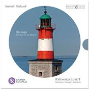 Obverse of Official Blister - Harmaja lighthouse KMS Set
