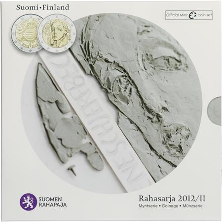 Obverse of Finland Official Blister - Helene Schjerfbeck 2012