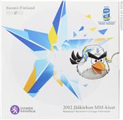 Obverse of Official Blister - Ice Hockey World Championship KMS Set