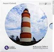 Obverse of Official Blister - Isokari Lighthouse KMS Set