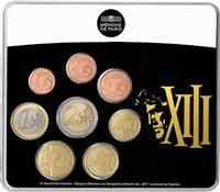 Obverse of Official Mini Blister XIII KMS Set