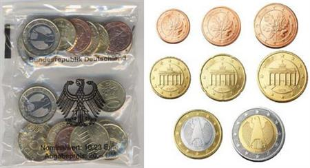 Obverse of Germany Starter Kit - Mintmark D 2002