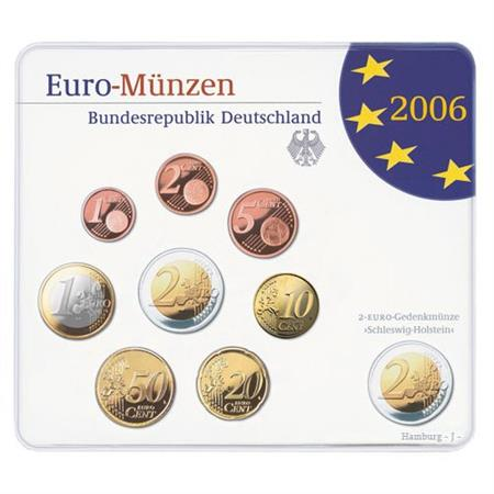 Obverse of Germany Official Blister - Mintmark A 2006