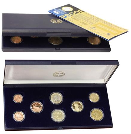 Obverse of Greece Proof Set 2011